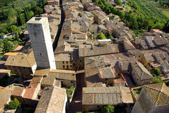 San gimignano Włochy Toskanii obrazy royalty free