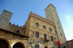 San gimignano Włochy Toskanii Zdjęcie Stock