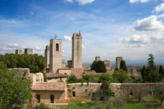 San Giminiano in Italy / Tuscany Stock Photos