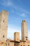 San Giminiano towers in Tuscany, Italy Royalty Free Stock Photography