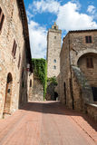 San Giminiano Royalty Free Stock Photography