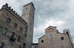 San Giminiano Royalty Free Stock Image