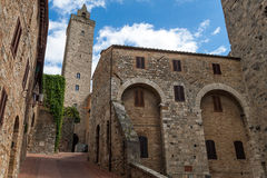 San Giminiano Royalty Free Stock Photo