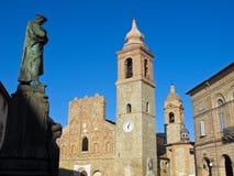 San Ginesio. Région Marche, Italie Photographie stock libre de droits