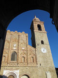 San Ginesio. Region Marche, Italien Lizenzfreies Stockfoto