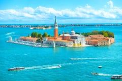 Άποψη του νησιού SAN Giorgio Στοκ Φωτογραφία