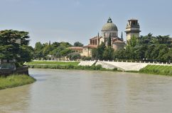 San Giorgio in Braida Royalty Free Stock Images