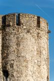 San Giorgio Castle - La Spezia Liguria Italy. Castle of St. George Castello San Giorgio 1265-XIX century, Genoan military fortification in La Spezia, Liguria royalty free stock photography