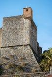 San Giorgio Castle - La Spezia Liguria Italy. Castle of St. George Castello San Giorgio 1265-XIX century, Genoan military fortification in La Spezia, Liguria royalty free stock images