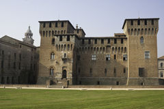 San Giorgio Castle in Mantova Royalty Free Stock Image
