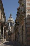 San Giorgio cathedral in Ragusa, Val di Noto. Sicily, Italy. Royalty Free Stock Image