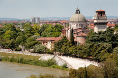San Giorgio Church in Braida Verona Royalty Free Stock Photography