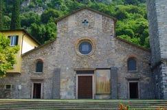 San giorgio church. By the como lake in italy Stock Photo