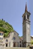 San Giorgio church, Varenna, Italy Stock Images
