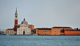 Venezia. San Giorgio Church in Venice, Italy stock images
