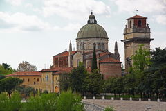 San Giorgio Church in Verona, Italy Royalty Free Stock Image
