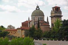 San Giorgio Church in Verona, Italy. View of San Giorgio Church, in Verona Italy royalty free stock image
