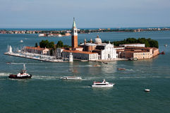 San Giorgio island, Venice Stock Photography