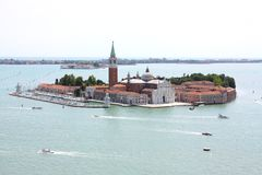 San Giorgio Island in Venice, Italy Stock Photo
