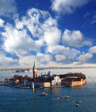 San Giorgio island, Venice, Italy Royalty Free Stock Photo