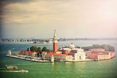 San Giorgio island, Venice, Italy Stock Image