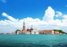 San Giorgio island, Venice, Italy Royalty Free Stock Photography
