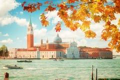 San Giorgio island, Venice, Italy Royalty Free Stock Images