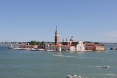 San Giorgio Island Venice Royalty Free Stock Images