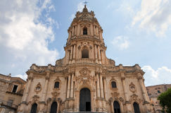 San Giorgio kościół, odrobiny, Sicily, Włochy Obraz Royalty Free