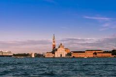 San Giorgio Maggiore at sunset Stock Photography
