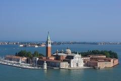 San Giorgio Maggiore cathedral in Venice,Italy. Stock Photo