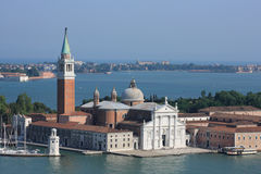 San Giorgio Maggiore cathedral in Venice,Italy. Royalty Free Stock Images