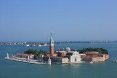 San Giorgio Maggiore cathedral in Venice,Italy. Stock Photography