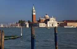 San Giorgio Maggiore Church Grand Canal Venice Royalty Free Stock Photos