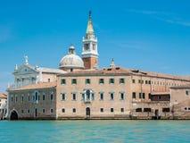 San Giorgio Maggiore Church i Venedig Fotografering för Bildbyråer