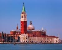 San Giorgio Maggiore Church in the Morning, Venice Italy Royalty Free Stock Photo