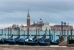 San Giorgio Maggiore Church in Venice Stock Images