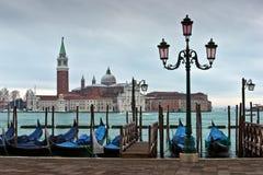 San Giorgio Maggiore Church in Venice Stock Photo