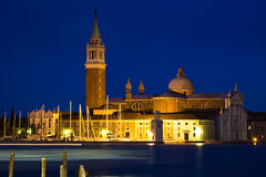 The San Giorgio Maggiore Church in Venice Italy Royalty Free Stock Photos