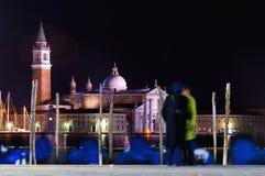 San Giorgio Maggiore church at Venice, Italy Stock Images