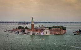 San Giorgio Maggiore church in Venice, Italy Royalty Free Stock Photography