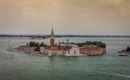 San Giorgio Maggiore church in Venice, Italy Royalty Free Stock Photography