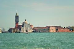 San Giorgio Maggiore church in Venice, Italy. Royalty Free Stock Image