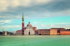 San Giorgio Maggiore church in Venice, Italy. Stock Image