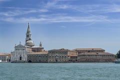 San Giorgio Maggiore in de zomer van 2013 royalty-vrije stock fotografie