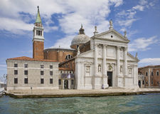 San Giorgio Maggiore em Veneza Fotos de Stock Royalty Free