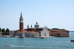 San Giorgio Maggiore en Venecia, Italia Fotografía de archivo libre de regalías