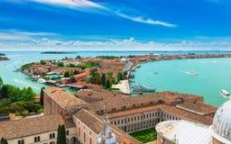 San Giorgio Maggiore and Giudecca islands in Venice Royalty Free Stock Image