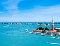 San Giorgio Maggiore island panorama Royalty Free Stock Image