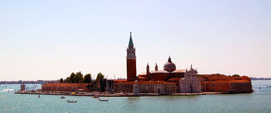 San Giorgio Maggiore Island - Venetië Stock Foto's